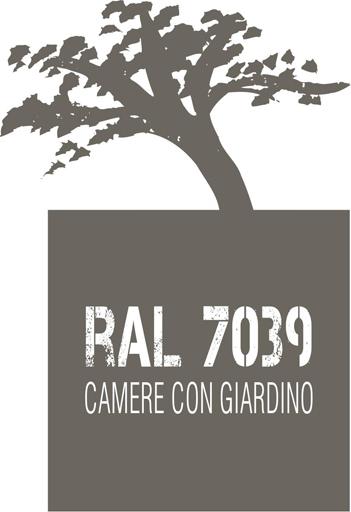 RAL7039 camere con giardino